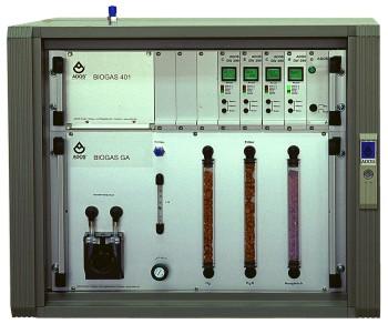 Biogas401 - Stacjonarny analizator biogazu z układem przygotowania próbki firmy ADOS