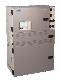 Przemysłowy modułowy chromatograf gazowy MAXUM edycja II