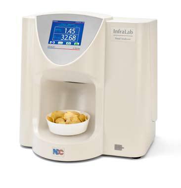 Infralab 710 system bezkontaktowego i ultraszybkiego pomiaru wilgotności oraz analizy białka, kolagenu, tłuszczu, cukru w produktach spożywczych
