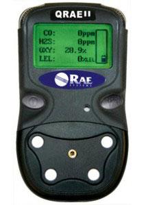 QRAE II model PGM - 2400 kompaktowy 4 parametrowy miernik gazów toksycznych, palnych i tlenu firmy RAE Systems