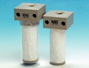 Filtr próżniowy powietrza środowiskowego, seria SP®, Wersja SP52..-..bez osłony antyrozbryzgowej, Wersja SP53..-..z osłoną antyrozbryzgową