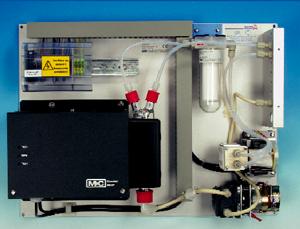 System kondycjonowania gazów seria PSS® Wersje SS-5, SS-5/3 instalowane na płycie montażowej, z uniwersalnym wyposażeniem, na natężenie przepływu 150 lub 310 Nl/godz.