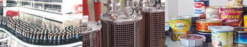 Monitorowanie, rejestracja temperatury i ciśnienia w procesach w przemyśle spożywczym