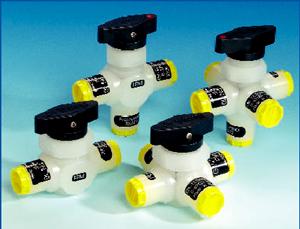 Zawory kulowe, seria L/PV-1 Wersje 2-, 3-, 4- i 5-drogowe Typy: 2L/PV-1, 3L/PV-1, 4L/PV-1, 5L/PV-1
