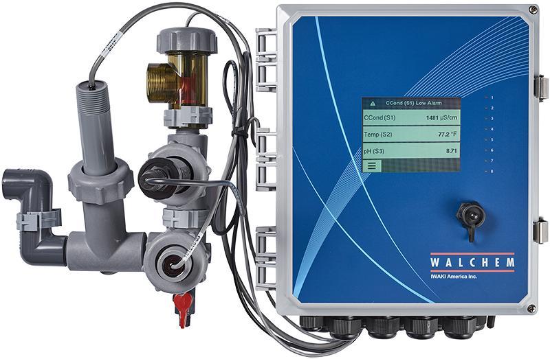 WALCHEM W900 | Uniwersalne sterowniki z panelem dotykowym