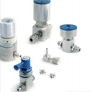 Zawory do gazów UHP,zawory kriogeniczne regulowane ręcznie oraz pneumatycznie