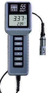 Przenośny system pomiaru tlenu i temperatury YSI 55 firmy YSI