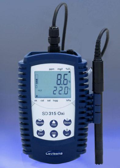 Tlenomierz przenośny SD 315 Oxi firmy Lovibond Tintometer