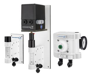 System dozowania gazu (chlorator) C111/C113 FIRMY GRUNDFOS-ALLDOS
