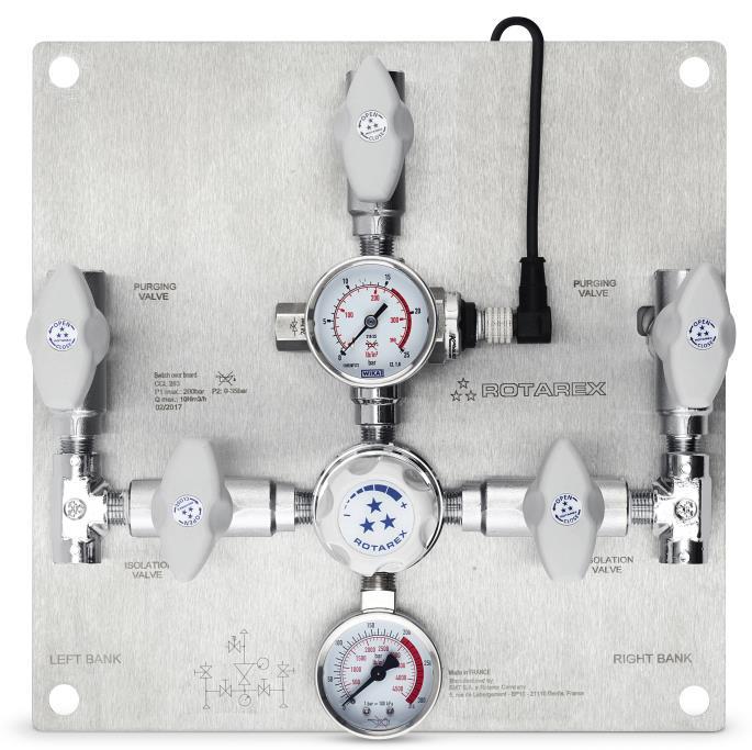 Podwójny, manualny panel zasilania CC283/383