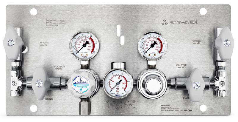 Podwójny, półautomatyczny panel zasilania  CC 284/ 384