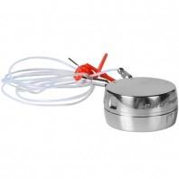 Bezprzewodowy rejestrator temperatury EBI12 T490 z dwoma, elastycznymi sondami temperatury o długości 600mm. Sondy dodatkowo są wyprowadzone z boku rejestratora co obniża całkowita wysokość rejestratora