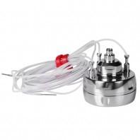 Rejestrator temperatury i ciśnienia z 3 elastycznymi sondami temperatury o długości 600 lub 1200 mm