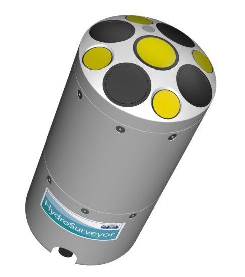 System do tworzenia planów batymetrycznych, profilu prędkości i nawigacją HydroSurveyor firmy YSI
