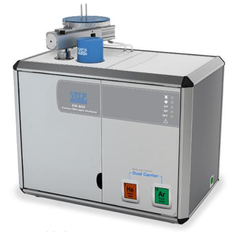 Analizator węgla i azotu CN 802 firmy Velp