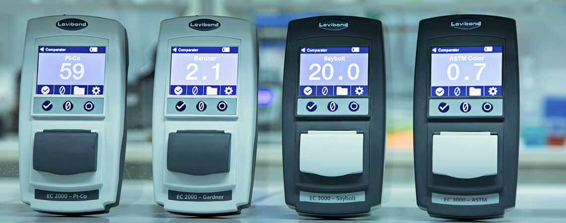 Seria komparatorów EC firmy Lovibond Tintometer