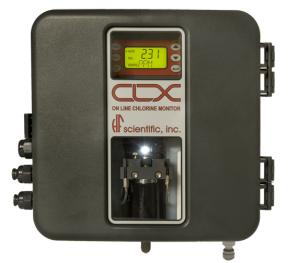 Analizator chloru CLX firmy  HF SCIENTIFIC