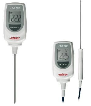 Termometr bagnetowy typu TTX 100 / TTX 110  firmy Ebro