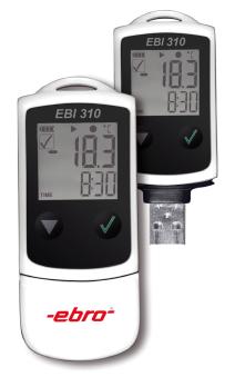 Rejestrator temperatury i wilgoci EBI310- generacja wyników w PDF firmy Ebro