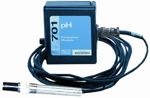Moduł 701 ph/temperatury,  integrowany zautomatem do poboru prób 6712 oraz AVALANCHE firmy TELEDYNE ISCO