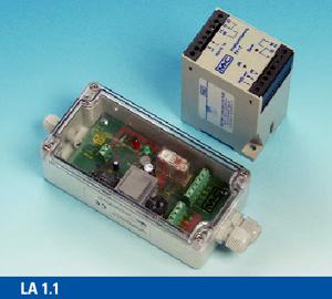 Czujniki alarmu o obecności cieczy seria LA® dla mediów przewodzących Wersja LA 1, LA 1-H, LA 25 oraz komory przepływowe LS, LS 25