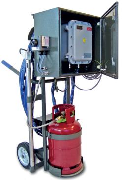 Mobilny/przenośny palnik gazowy rozpałkowy firmy Smitsvonk