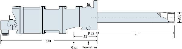 Palnik gazowy firmy Hegwein