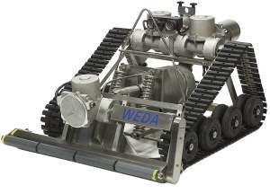 Przenośne urządzenia do czyszczenia filtrów powolnych i stawów infiltracyjnych WEDA YT800