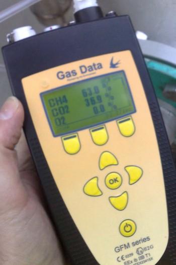 Przenośne analizatory gazów GFM 400/410/416 firmy Gas Data