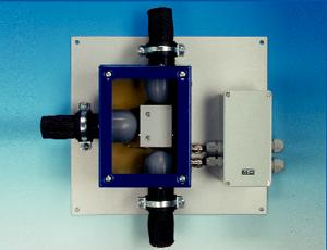 Złączki ogrzewane elektrycznie seria T..-H1, V..-H1 Wersja T6-H1, T8-H1, trójnik przewodowy, ogrzewany elektrycznie do 180 °C Wersja V6-H1, V8-H1, złączka przewodowa prosta, ogrzewana elektrycznie do 180 °C