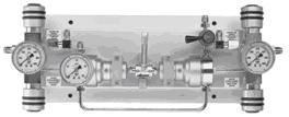 Półautomatyczny panel rozprężania  do gazów UHP TDI 102 UC